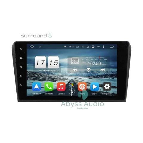 Штатная магнитола для Mazda 3 2003-2009 от Abyss Audio P9D-3MZ03 на Android 9 Pie
