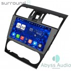 Штатная магнитола для Subaru Forester 2014-216 от Abyss Audio P9D-FRS14 на Android 9 Pie