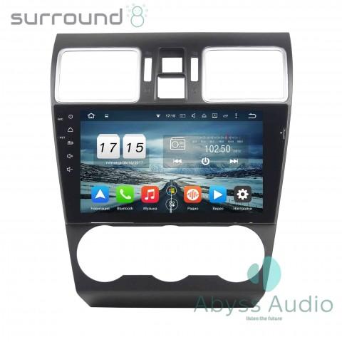 Штатная магнитола для Subaru WRX 2014-2016 от Abyss Audio P9D-WRX14 на Android 9 Pie