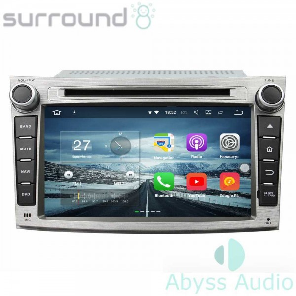 Штатная магнитола Abyss Audio для Subaru Legacy 2009-2012