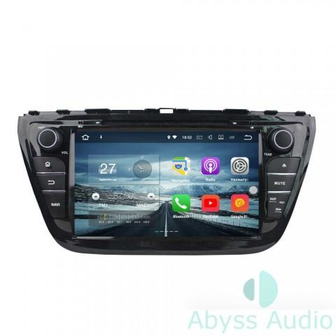 Штатна магнитола для Suzuki S Cross 2014 от Abyss Audio: Q10E-SCRS14 на Android 10 Q