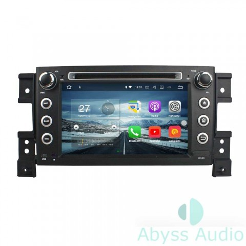 Штатна магнитола для Suzuki Vitara2005-2011 от Abyss Audio: Q10E-VIT05 на Android 10 Q