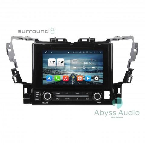 Штатная магнитола для Toyota Alphard2015 от Abyss Audio P9D-ALP15 на Android 9 Pie