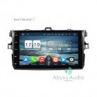 Штатная магнитола для Toyota Corolla 2006-2011 от Abyss Audio P9D-CRL06 на Android 9 Pie