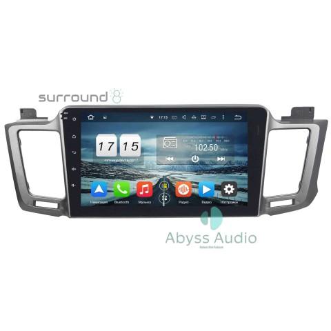 Штатная магнитола для Toyota RAV42012-2015 от Abyss Audio P9D-RAV12B на Android 9 Pie