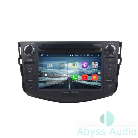 Штатная магнитола для Toyota RAV4 2006-2012 от Abyss Audio P9E-06RAV4 на Android 9 Pie