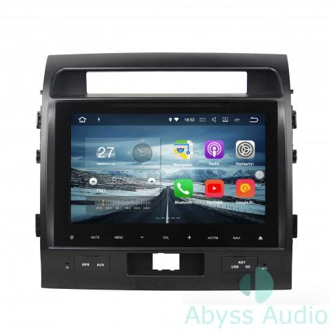 Штатная магнитола для Toyota  Land Cruiser2008-2012 от Abyss Audio P9E-08LC200 на Android 9 Pie