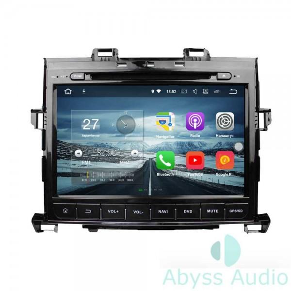 Штатная магнитола Abyss Audio для Toyota Alphard 2007-2013