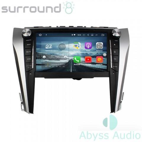 Штатная магнитола для Toyota Camry 2015 от Abyss Audio P9E-CAMR15 на Android 9 Pie