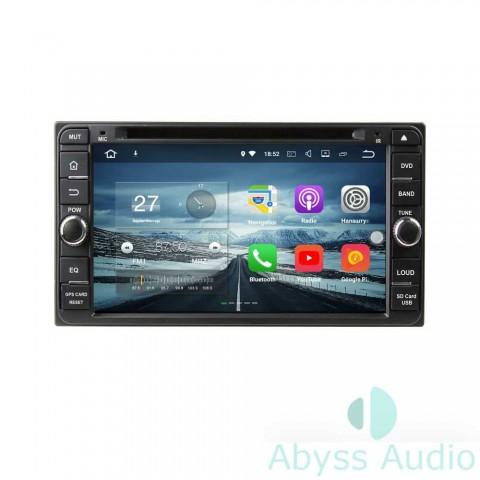 Штатная магнитола для Toyota Corolla 2004-2006 от Abyss Audio P9E-CORL04B на Android 9 Pie