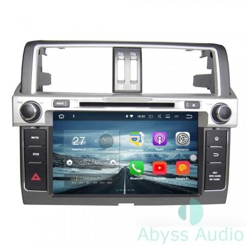 Штатная магнитола для Toyota Prado 2014 от Abyss Audio P9E-PRD14 на Android 9 Pie