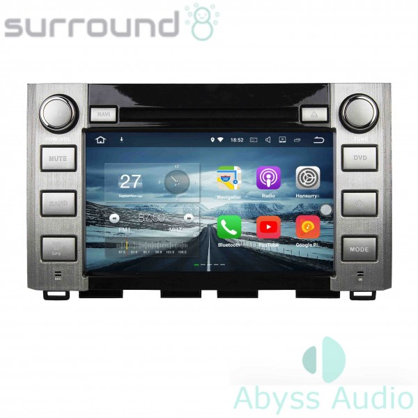 Штатная магнитола Abyss Audio для Toyota Tunda 2014-2016