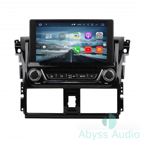 Штатная магнитола для Toyota 2014 Yaris/Vios от Abyss Audio P9E-VAR14 на Android 9 Pie