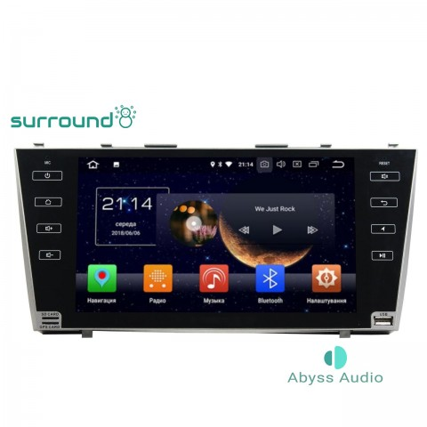 Штатная магнитола для Toyota Camry 2007-2011 от Abyss Audio P9E-CAMR07 на Android 9 Pie
