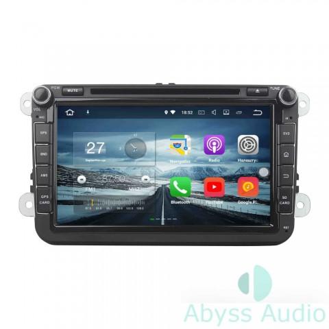 Штатна магнитола для Volkswagen Golf 6 от Abyss Audio: Q10E-GOLF6b на Android 10 Q