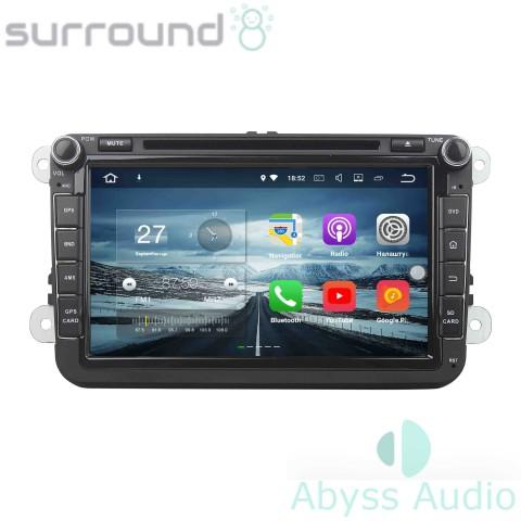 Штатна магнитола для Volkswagen Passat B6 от Abyss Audio: Q10E-VWPB6b на Android 10 Q