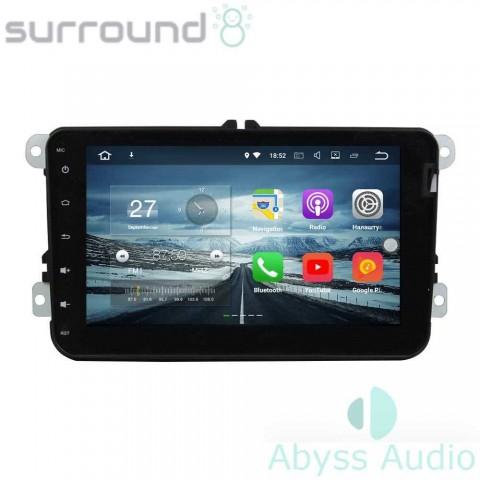 Штатна магнитола для Volkswagen Tiguan от Abyss Audio: Q10E-TIGUt на Android 10 Q