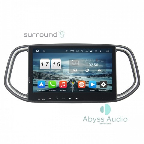 Штатная магнитола для KIA KX3 2014- от Abyss Audio P9D-14KX3 на Android 9 Pie