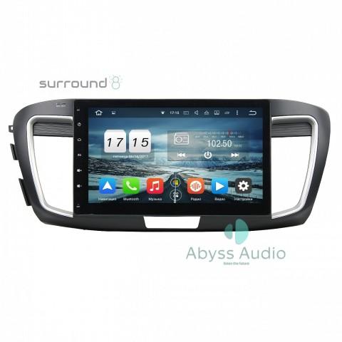 Штатная магнитола для Honda Accord 2013-2015 от Abyss Audio P9D-ACD13 на Android 9 Pie