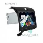 Штатная магнитола для KIA Cerato 2013-2014 от Abyss Audio P9D-CERT13 на Android 9 Pie