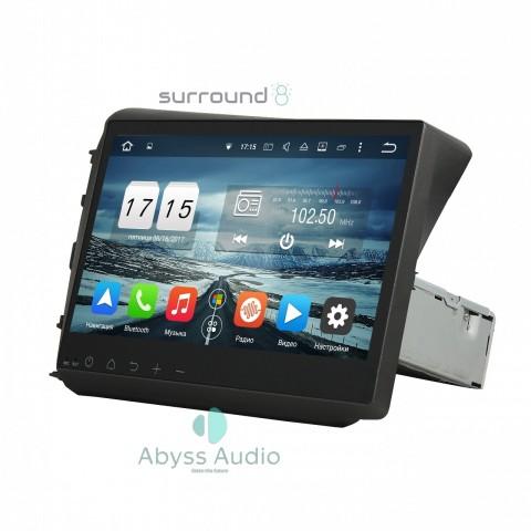 Штатная магнитола для Honda Civic 2012 от Abyss Audio P9D-CIV12 на Android 9 Pie