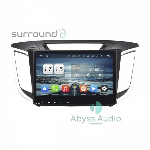Штатная магнитола для Hyundai IX252014-2015 от Abyss Audio P9D-CRET14 на Android 9 Pie