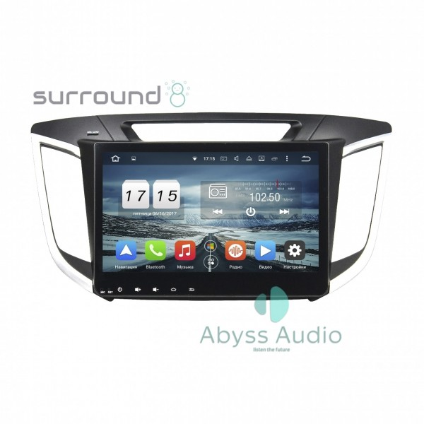 Штатная магнитола Abyss Audio для Hyundai IX25 2014-2015