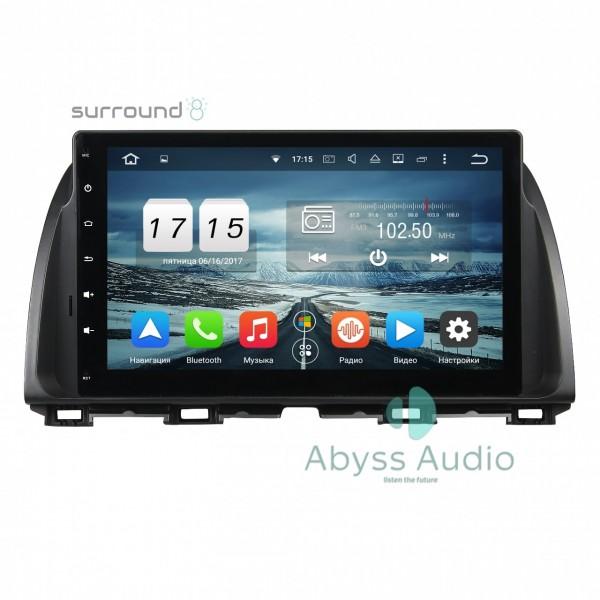 Штатная магнитола Abyss Audio для Nissan Tiida 2011-2015 MT