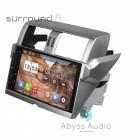 Штатная магнитола для Toyota Prado 2011-2014 от Abyss Audio P9D-PRD14 на Android 9 Pie