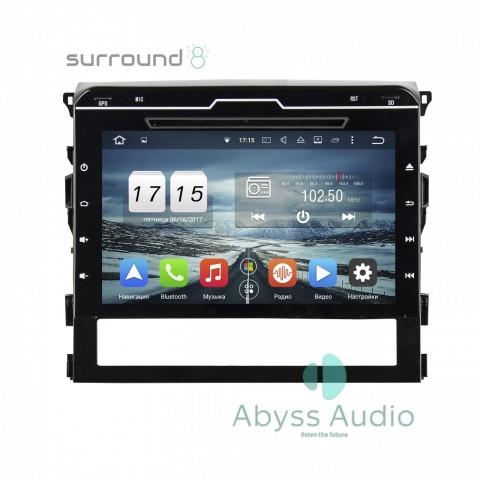 Штатная магнитола для Toyota Land Cruiser 2016 от Abyss Audio P9D-TLC16 на Android 9 Pie