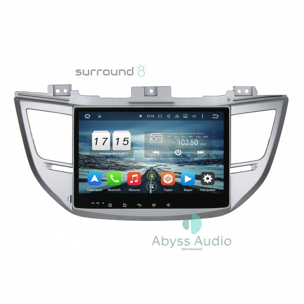 Штатная магнитола Abyss Audio для Hyundai Tucson 2015