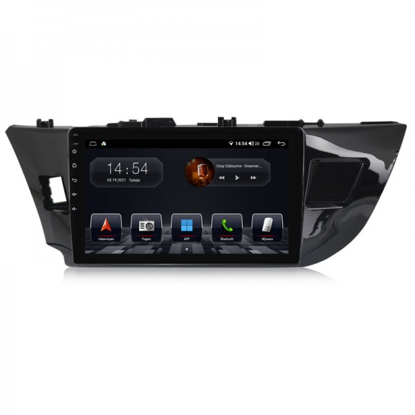 Штатная магнитола Abyss Audio QS-0123 для Toyota Corolla 2014-2016