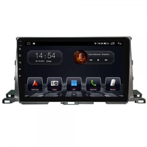 Штатная магнитола Abyss Audio QS-0133 для Toyota Highlander XU50 2015+