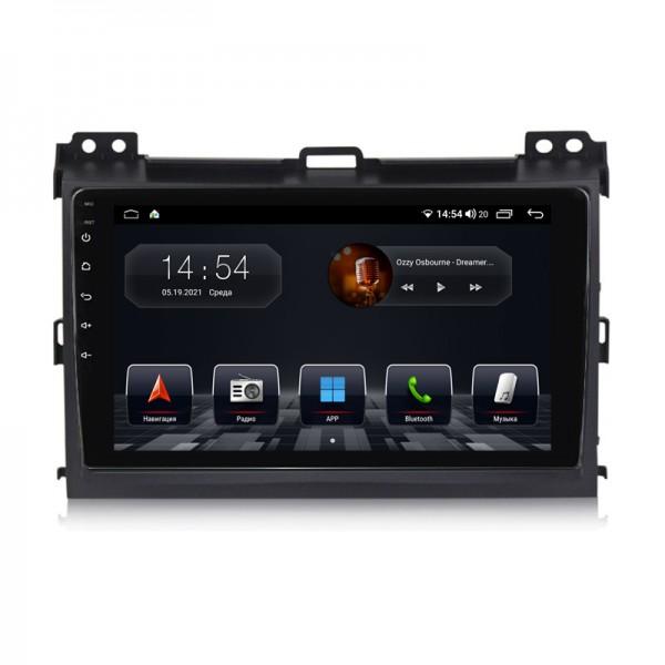 Штатная магнитола Abyss Audio QS-9144 для Toyota PRADO J120 2006-2010