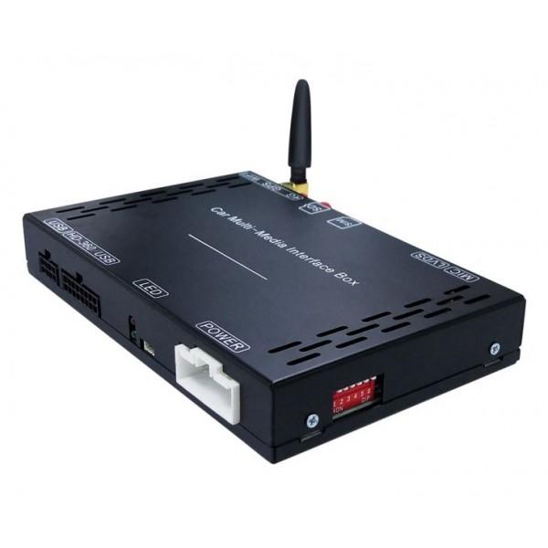 Штатный видеоинтерфейс AudioSources MIB-218AG для Skoda