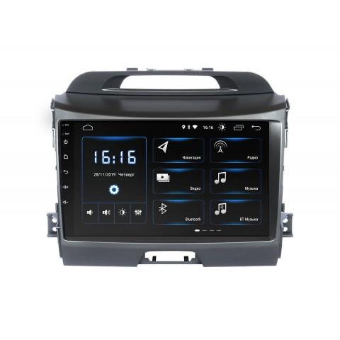 Штатная магнитола InCar для Kia Sportage R 2010+ (модель (XTA-1034)