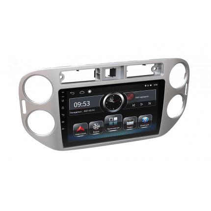Штатная магнитола Incar PGA2-1076 для Volkswagen Tiguan 2011–2016 Silver