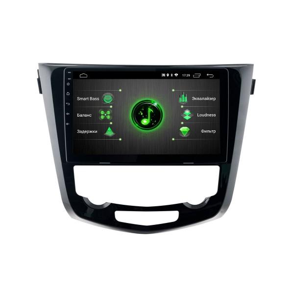 Штатная магнитола Incar DTA-6210 DSP для Nissan Qashqai 2014+ Climat