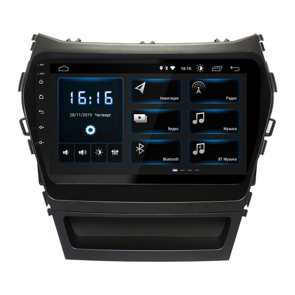 Штатная магнитола Incar XTA-2409 для Hyundai Santa Fe (IX45) 2013+