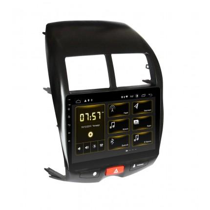 Штатная магнитола Incar DTA-1075 для Mitsubishi ASX 2010-2013 Комплектация авто без усилителя