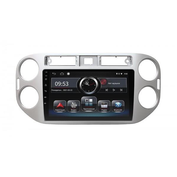 Штатная магнитола Incar PGA-1076 для Volkswagen Tiguan 2011–2016 Silver