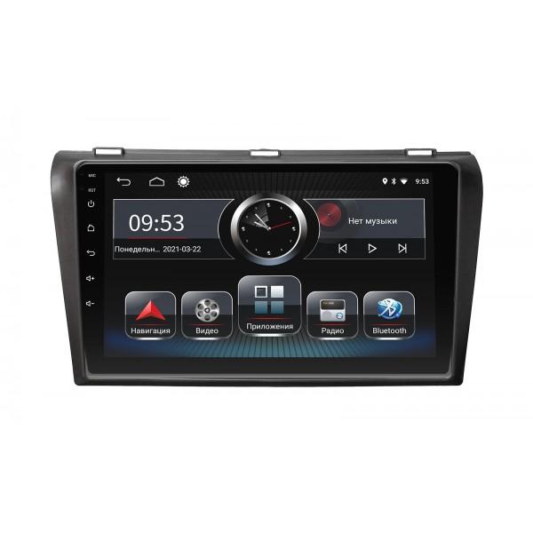 Штатная магнитола Incar PGA-0230 для Mazda 3 2004-2008