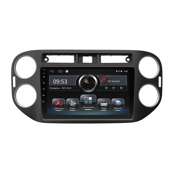 Штатная магнитола Incar PGA-1077 для Volkswagen Tiguan 2011–2016 Black