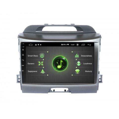 Штатная магнитола InCar для Kia Sportage R 2010+ (модель (DTA-1034)