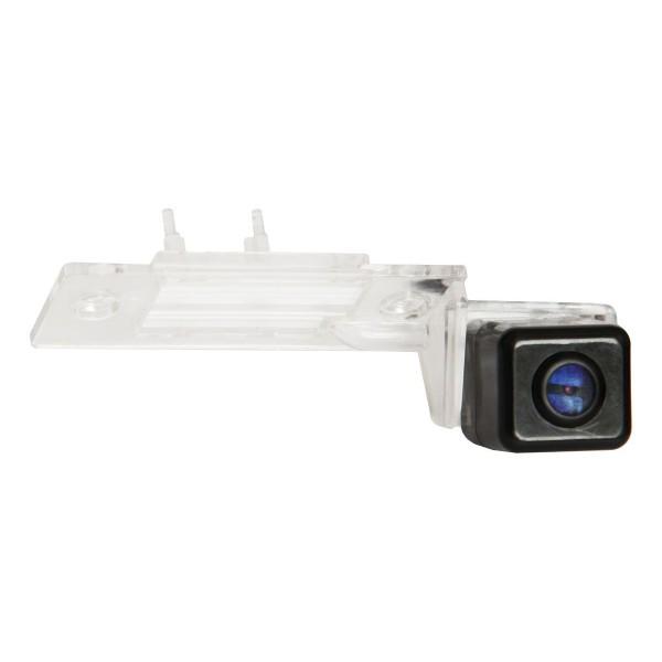 Штатная камера заднего вида Swat VDC-015S для Volkswagen Tiguan, Touareg I, Bora, Skoda Fabia I-II, Yeti, Porsche Cayenne I
