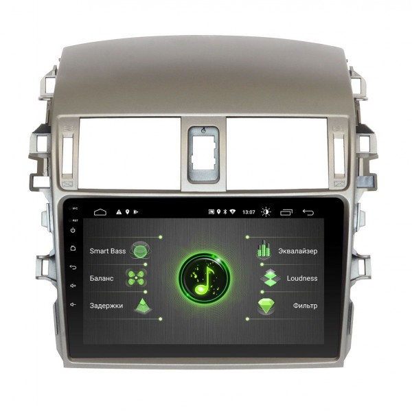 Штатная магнитола Incar DTA-1441 для Toyota Corolla 2009-2012