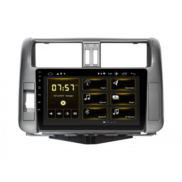 Штатная магнитола Incar DTA-0145 для Toyota LC Prado 150 2010-2013 Комплектация авто без усилителя