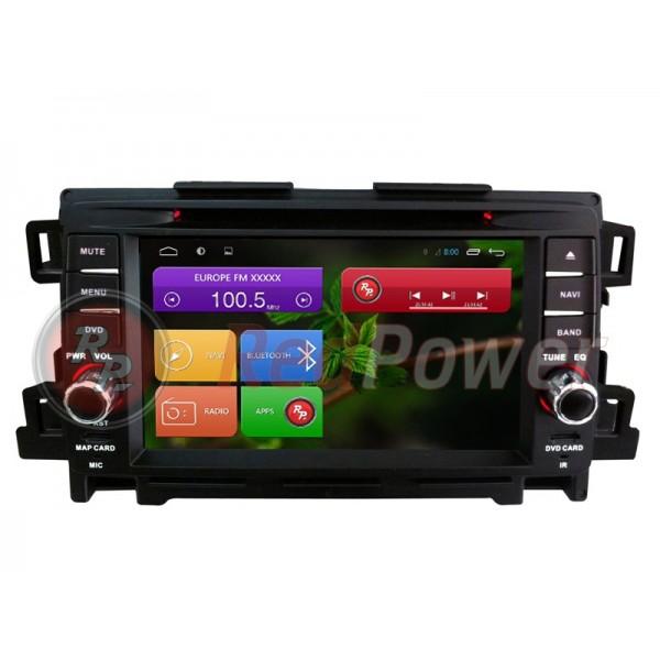 Штатна магнітола Red Power для Mazda 6 New RP18012 S180 Android 4,2