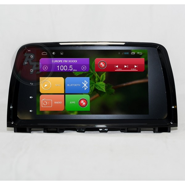 Штатна магнітола Red Power для Mazda 6 New RP21012B S210 Android 4,4