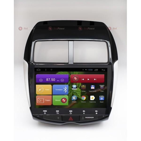 Штатная магнитола Red Power для Citroen Aircross RP21026B S210 Android 4,4